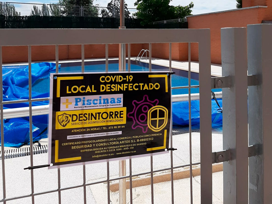 Desinfeccion piscinas